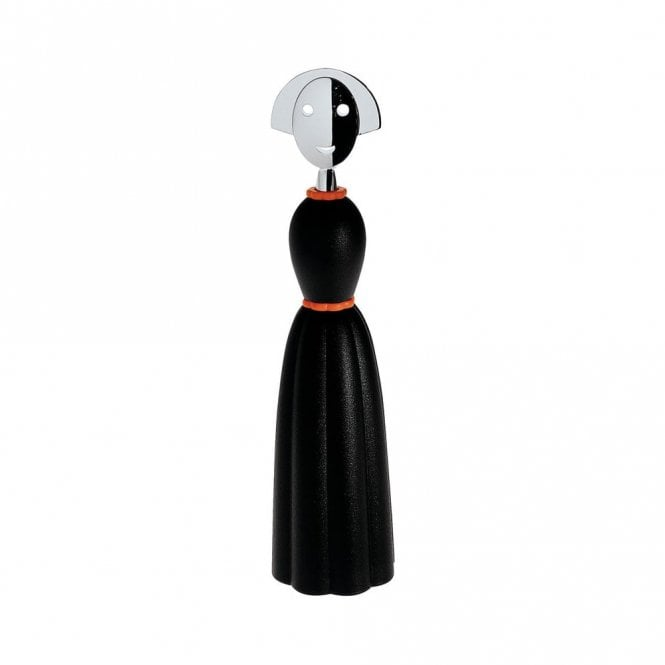 Alessi Anna Pepper Mill Black (AAM04 B)