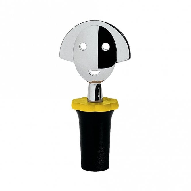 Alessi Anna Stop 2 Stopper Black (AAM06 B)