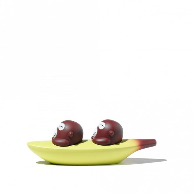 Alessi Banana Bros Salt & Pepper Set (ASG99)
