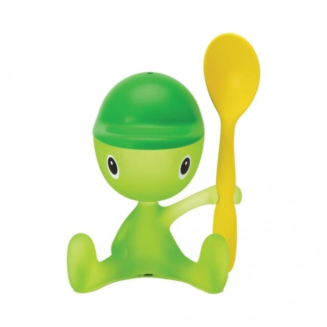Alessi Cico Egg Cup Green Bud (ASG23 GB)