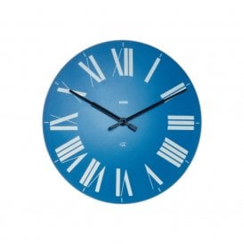 Firenze Wall Clock Light Blue (12 AZ)