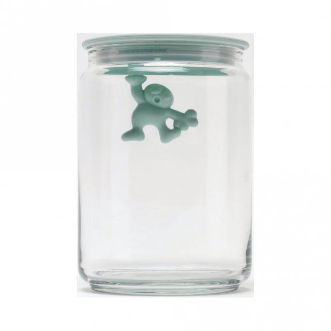 Alessi Gianni A Little Man Holding On Tight Jar Mint Shake (AMDR05 MS)