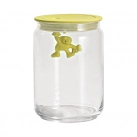 Gianni A Little Man Holding On Tight Jar Yellow (AMDR05 Y)
