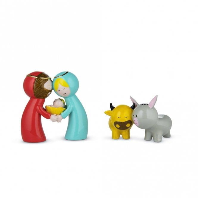 Alessi Happy Eternity Baby Festive Ornaments (AGJ01S2)