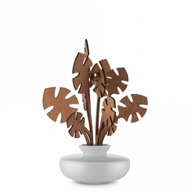 Alessi Hmm The Five Seasons - Leaf Fragrance Diffuser (MW64 3S W)