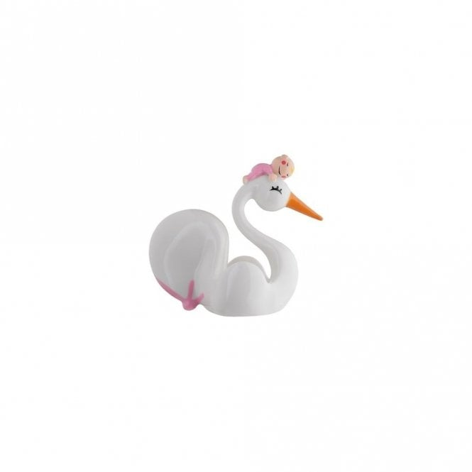 Alessi In Love Bimboniera Baby Shower Favour Pink (AMGI157 P)
