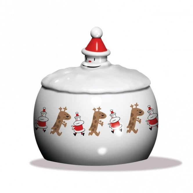 Alessi Let It Snow Biscuit Box (AMGI30)