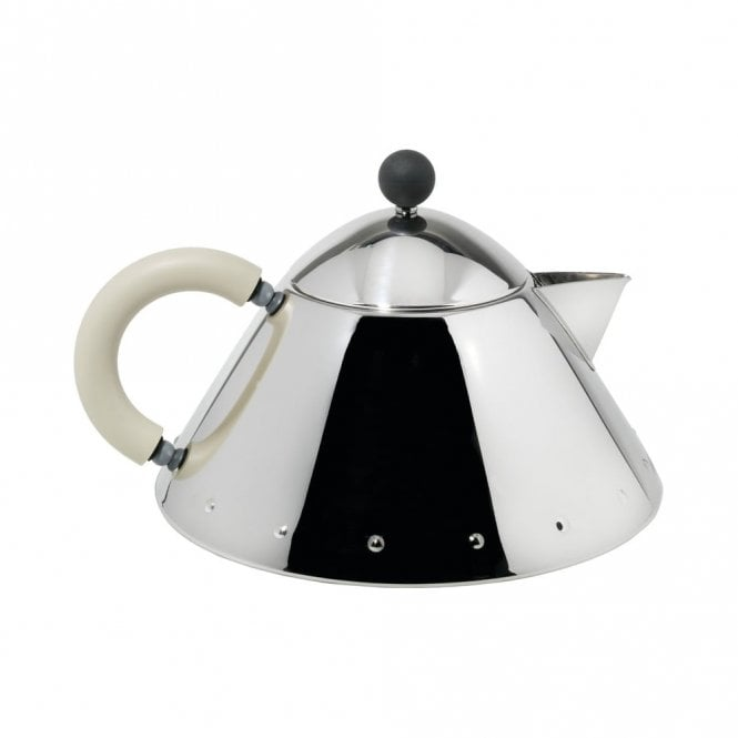 Alessi MG33 Teapot White Ivory (MG33 WI)