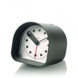 Optic Table Alarm Clock Black (02 B)
