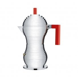Pulcina Espresso Coffee Maker Red (MDL02/6 R)
