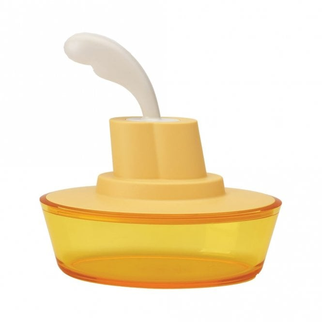 Alessi Ship Shape Container Yellow (ASG13 SY)