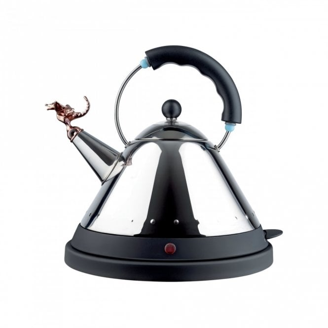 Alessi Tea Rex Electric Kettle Black (MG32REXBUK)