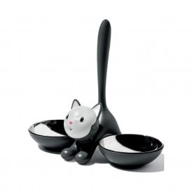 Tigrito Cat Bowl Black (AMMI09 B)