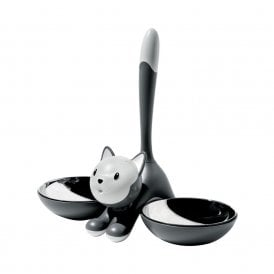Tigrito Cat Bowl Grey (AMMI09 G)
