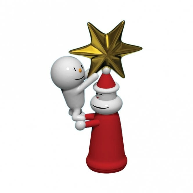 Alessi With A Little Help Santa Star Figure (AMGI28)