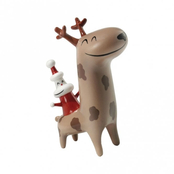 Alessi Xmas Cow Boy Figure (AMGI12)