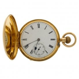 Circa 1883 Full Hunter Pocket Watch 97661