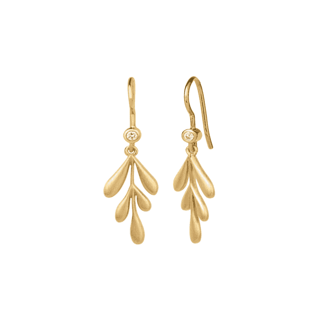 byBiehl Forest Earrings - Gold