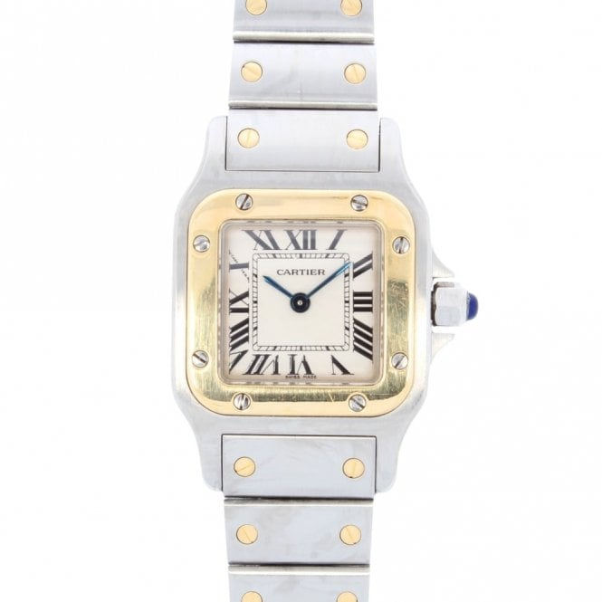 Cartier Ladies Santos Galbee 1567