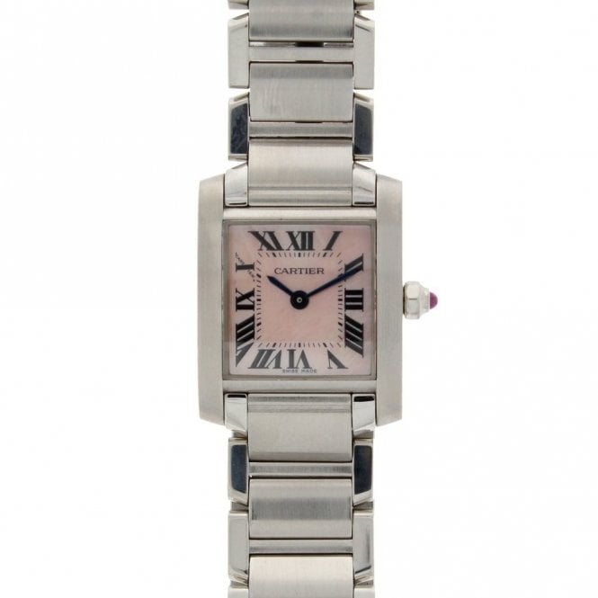 Cartier Ladies Tank Francaise W51028Q3