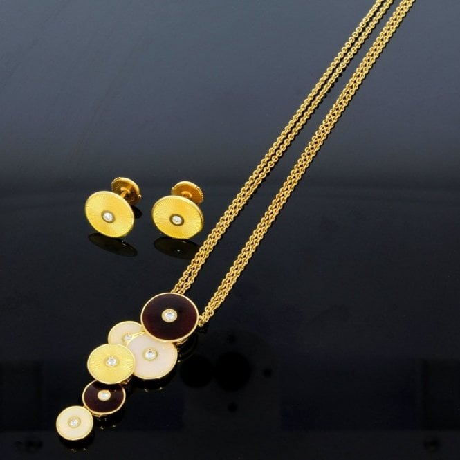 Faberge F2681FO Necklace & Earrings Suite