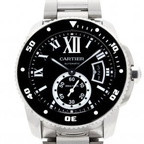 Gents Calibre De Cartier Diver Watch W7100057