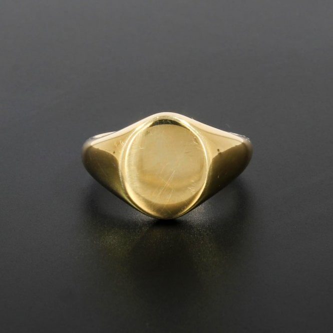 Gents Ring Yellow Gold