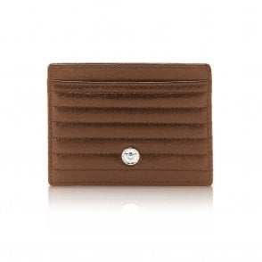 Ferrari Dino Credit Card Holder Tan (GL33-2)