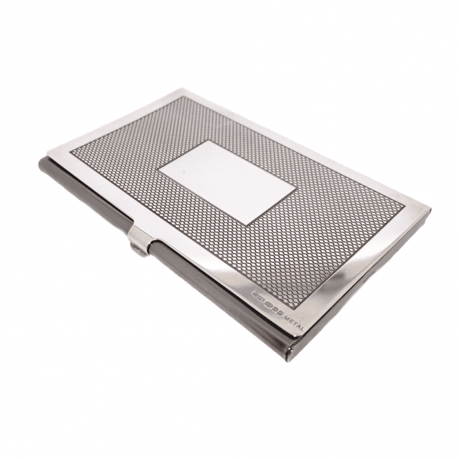 Hallmarked Sterling Silver Business Card Holder