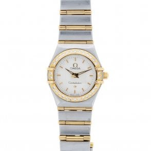 Ladies Omega Constellation Mini 12673000