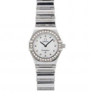 Ladies Omega Constellation Mini 14657100