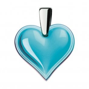 Amoureuse Beaucoup Heart Pendant Light Blue (7772400)