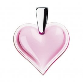 Amoureuse Beaucoup Heart Pendant Rose Pink (6653200)