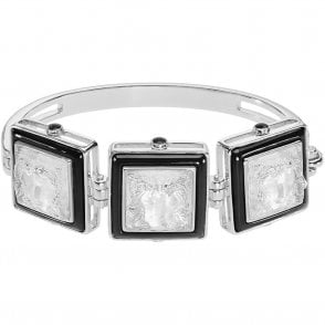 Arethuse Bracelet Black & Clear (10444400)