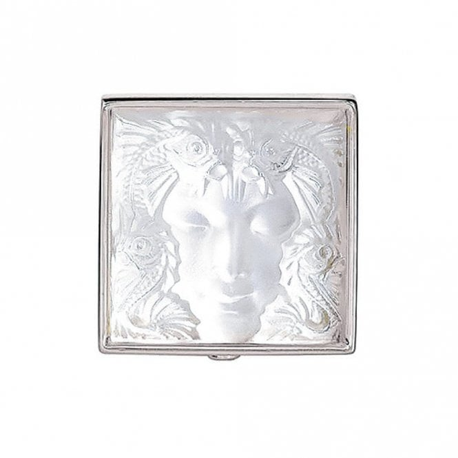 Lalique Arethuse Masque De Femme Brooch Clear (7636000)
