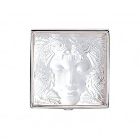 Arethuse Masque De Femme Brooch Clear (7636000)