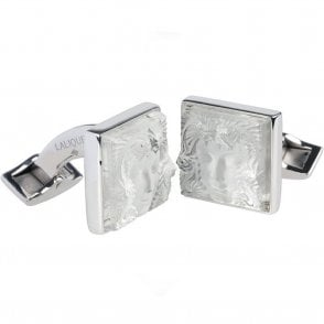 Arethuse Masque De Femme Cufflinks Clear (10365400)
