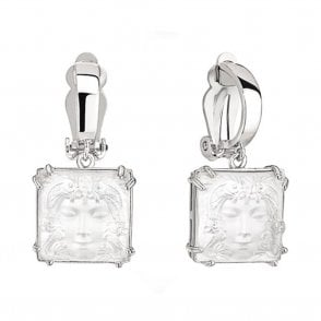 Arethuse Masque De Femme Earrings Clear (10461200)