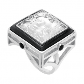 Arethuse Ring Black & Clear (10444900)