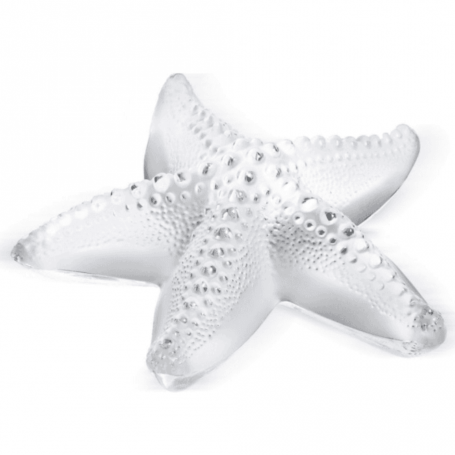 Lalique *DISCONTINUED*Oceania Starfish Paperweight Clear (1185800)