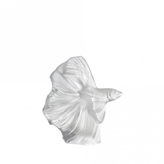 Lalique Fighting Fish Small Clear (10672400)