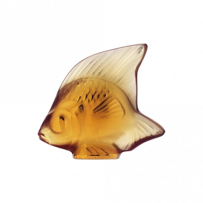 Lalique Fish Amber (3000700)