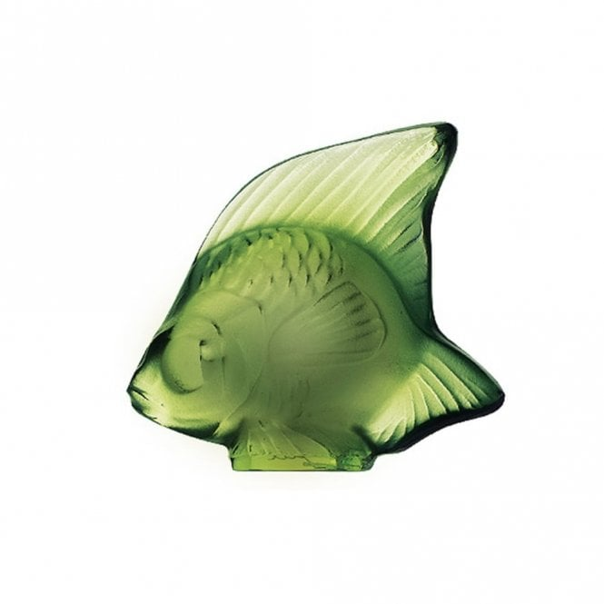 Lalique Fish Antinea Green (3001200)