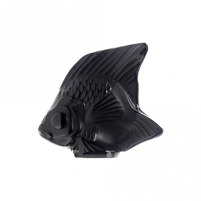 Lalique Fish Black (3000100)