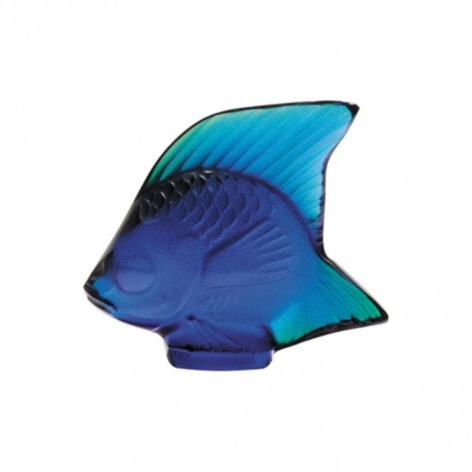 Lalique Fish Cap Ferrat Blue (3002100)
