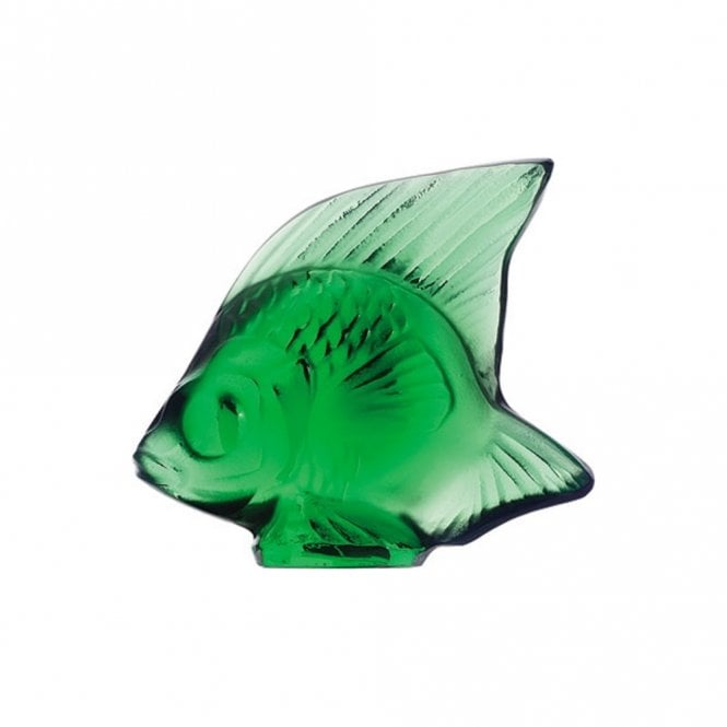 Lalique Fish Emerald Green (3001000)