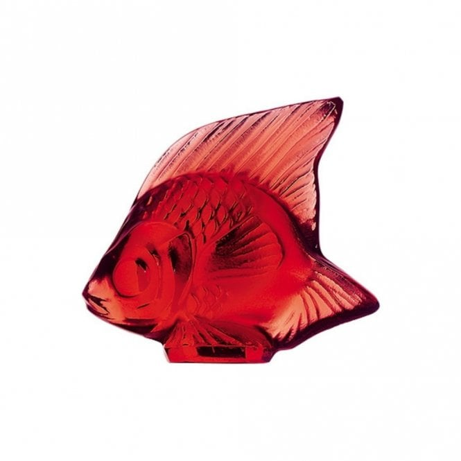 Lalique Fish Golden Red (3003100)