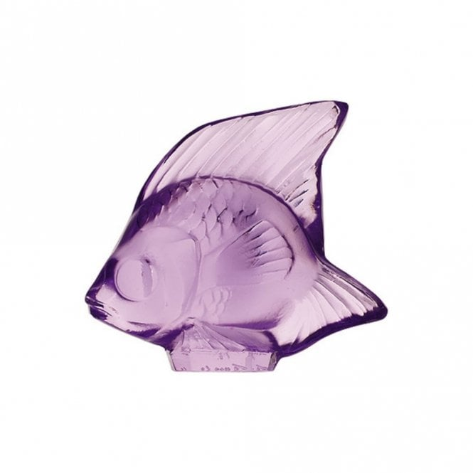 Lalique Fish Light Purple (3003000)