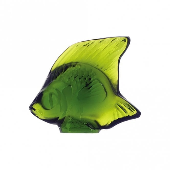 Lalique Fish Lime Green (3000900)