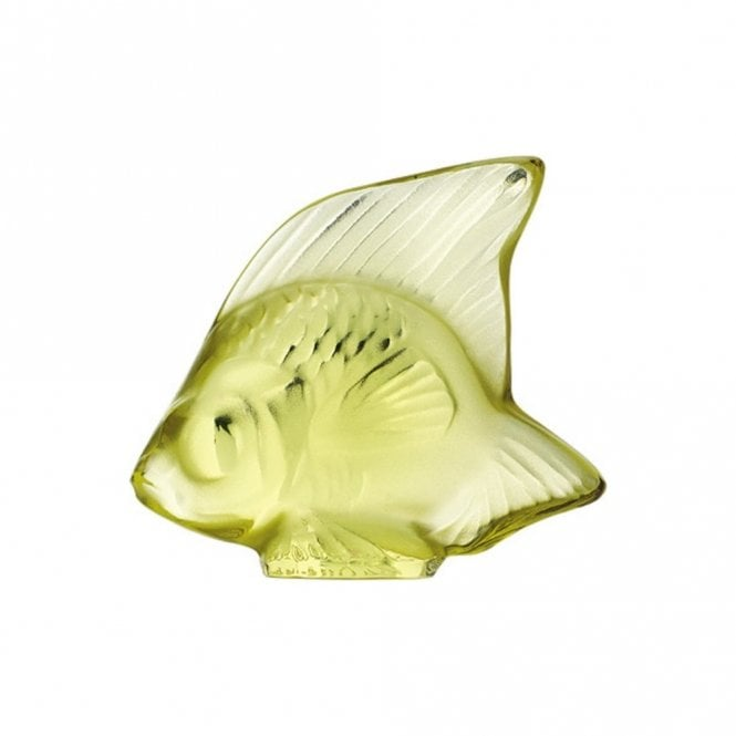 Lalique Fish Yellow Sun (3002400)